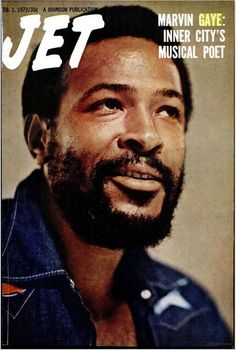 "marvinpgayejr: ""INNER CITY'S MUSICAL POET: Marvin on the cover of JET, February 1, 1973 """