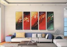 Modern Abstract Art Oil Painting STRETCHED READY TO HANG OPZ-5-1: http://www.amazon.com/Modern-Abstract-Painting-STRETCHED-OPZ-5-1/dp/B005B71NTO/?tag=greavidesto05-20