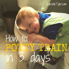 Potty Training can be a real struggle. I potty trained both of my boys in 3 days. This guide will tell you how you can potty train your kids in three days too!