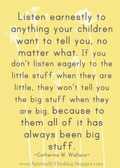 This is my guiding principle as a mother.