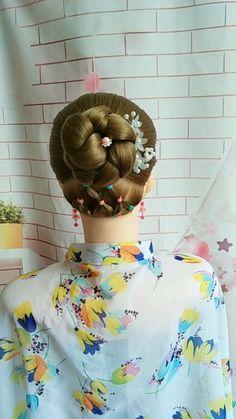 Cute Simple Hairstyles, Pretty Hairstyles, Braided Hairstyles, Long Hair Ponytail, Prom Hairstyles For Long Hair, American Girl Hairstyles, Baby Girl Hairstyles, Hair Tutorials For Medium Hair, Traditional Hairstyle