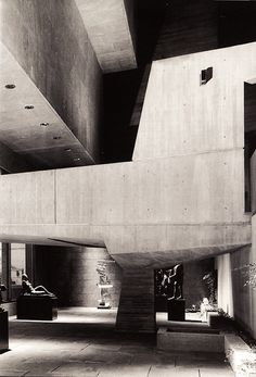 Whitney Museum of American Art by Marcel Breuer / brutalism Concrete Architecture, Gothic Architecture, Architecture Details, Interior Architecture, Classical Architecture, Interior Design, Marcel Breuer, Wassily Kandinsky, Colani