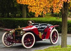 America's first sports car, the 1907 American Underslung Roadster