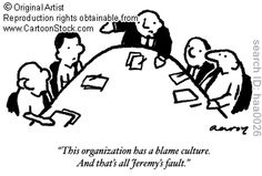 'Blame Culture' by Aaron, Huw