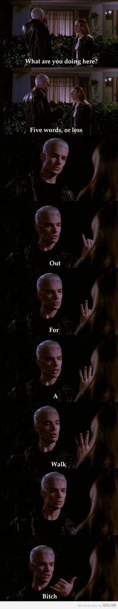 One of the best scenes from Buffy!