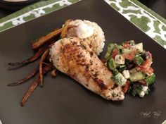 Mediterranean Chicken and Village Salad
