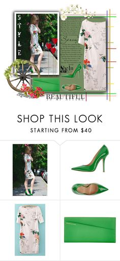 """""""Spring SheIn"""" by tanja133 ❤ liked on Polyvore featuring Fiorangelo and Smythson"""