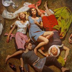 portraitsandplaces: Bo Bartlett School of the Americas 2010 • Oil on Panel • 76 x 76