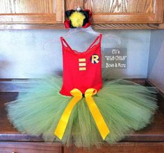 How I Made My Toddler Into Hit Girl From The Major Motion Picture 'Kick Ass'- A Batman & Robin Tutu- Good Idea!
