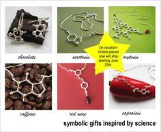 love molecular jewelry
