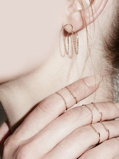 Chain Ellipse Ring by Sarah & Sebastian