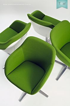 Walter Knoll Turtle chairs from Living Edge, on Temple & Webster.