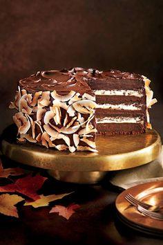 September 2016 Recipes: Chocolate-Coconut Layer Cake