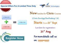 #training #SSDNTechnologies #Graduates #Students #Citrix #India #XenDesktop