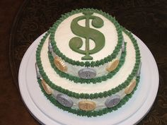 Money Cake — Birthday Photos