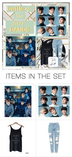 """""""(boy bands)"""" by aurora-zg ❤ liked on Polyvore featuring art and BOTBBD"""