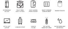 Smart and Versatile Travel + Work Multi-functional Bag by Nördepack — Kickstarter