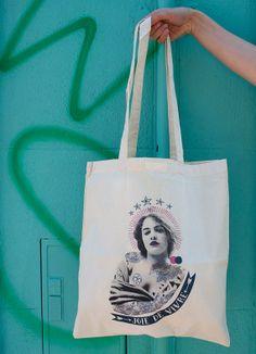 tote bag by Lolita Picco via Etsy