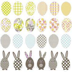 DIY Easter Eggs (free download)