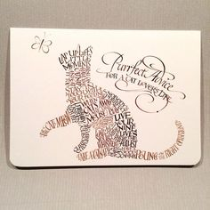 Purrfect Advice for a Cat Lover's Life Holly Monroe calligraphy art card DesignDesign Crazy Cat Lady, Crazy Cats, Calligraphy Cards, Envelope Art, Advice Cards, Cat Quotes, Mail Art, Lettering Design, Word Art