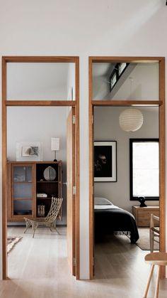Modern Design Wooden Door For Best Home Interior Exterior, Interior Architecture, Wood Interior Doors, Exterior Doors, Interior Styling, Interior Decorating, Deco Design, Wooden Flooring, Wood Paneling