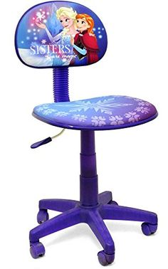 Kids Discover Frozen Rolling Task Chair for Kids Office Adjustable Swivel Seat to Sit and Study Ideal Girls Gift Little Girl Toys, Baby Girl Toys, Toys For Girls, Frozen Elsa And Anna, Disney Frozen Elsa, Disney Frozen Nails, Frozen Bedroom, Frozen Toys, Kids Office