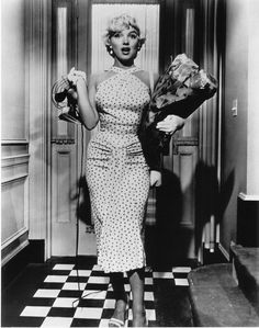 "Marilyn Monroe en ""La tentación vive arriba"" (""The Seven Year Itch""), 1955."