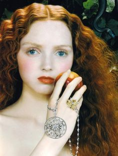 Like the pendant and ring{lily cole}