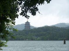 good lake Hangzhou, West Lake, Heaven, China, Mountains, Nature, Sky, Naturaleza, Heavens
