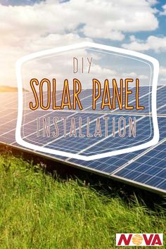 """Find """"How to"""" Guides to install your own solar panel Solar Panel Installation, Solar Panels, Diy Solar, Best Investments, Renewable Energy, Concept, Education, Sun Panels"""