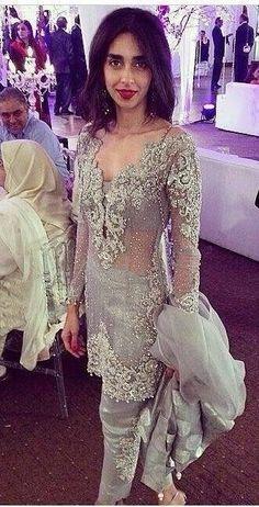 Pakistani Engagement Formal Dress Elan Inspired by KaamdaniCouture