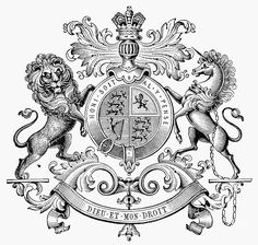 Coat Of Arms: Great Britain Photograph