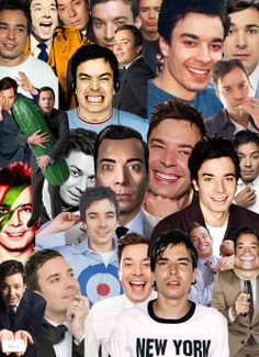 Jimmy Fallon-my middle school and high school was this man. Still now I lurve him lol
