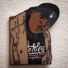 #Repost @paulypins  Biggie Smalls pin. Tribute to the legend. Run of 75 numbered up on my site peace always free shipping! #hatpins #pingame #biggiesmalls #thenotoriousbig  #hiphoppins #hiphop    (Posted by https://bbllowwnn.com/) Tap the photo for purchase info.  Follow @bbllowwnn on Instagram for great pins patches and more!