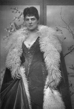 Lady Randolph Churchill (Winston Churchill's mother, Jenny).