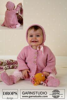 easy knit baby set