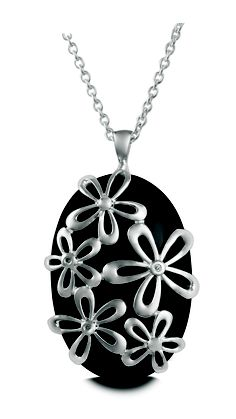 Necklace with flowers #Metalsmiths