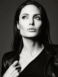 Angelina Jolie for Elle June 2014