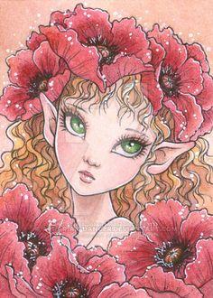Poppy Elf by aruarian-dancer on DeviantArt