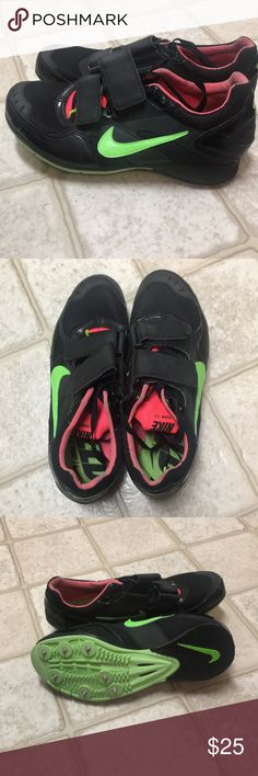 Nike triple jump shoes Used one season Men's size Women's size 10 Nike  spike bag included Nike Shoes Athletic Shoes