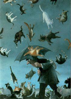 Gerhard Glück. Alemania  (it's raining cats, hallelujah it's raining cats... ;) ...)
