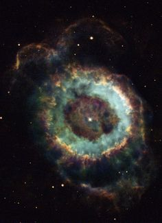 #NGC6369 the ghost of an old star!
