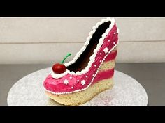 Shoe Cake Idea - How To Make by CakesStepbyStep, My Crafts and DIY Projects