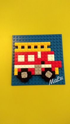 Discover recipes, home ideas, style inspiration and other ideas to try. Lego Challenge, Challenge Ideas, Modele Lego, Lego Mosaic, Lego Toy Story, Lego Wall, Lego Club, Lego Craft, Infant Activities