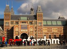 Travel & Adventures: Amsterdam. A voyage to Amsterdam, The Netherlands, Europe. Rijksmuseum