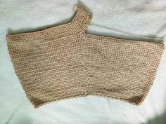 1 step in crochet shorts - By kook Shorts Tejidos A Crochet, Crochet Pants, Crochet Bikini Pattern, Crochet Skirts, Crochet Blouse, Crochet Clothes, Crochet Top, Crochet Stitches Patterns, Crochet Designs