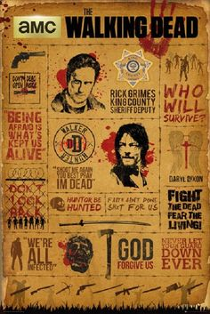 Y-18 The Walking Dead Season 7 Hot USA TV Series Show 21 24x36 Poster Fabric Art