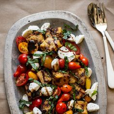 Grilled Panzanella Salad with Herbes de Provence | Frontier Co-op