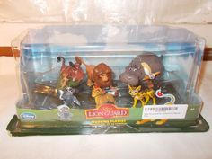 New Disney Lion Guard Figurine Playset Lion King Kion Simba 6 Pc Set Cake Topper #Disney