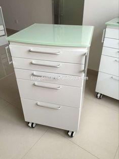 Venta caliente diseño moderno muebles dentales gabinete clínica dental Gabinete Móvil gabinete dental